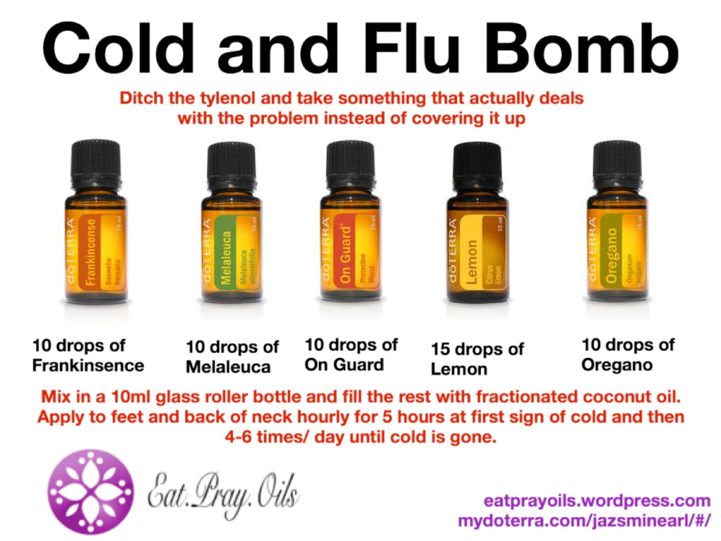 Cold And Flu Bomb Eat Pray Oils